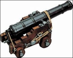 18th Century English Naval Cannon