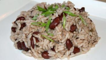 Rice and Peas Recipe - Nevis Style
