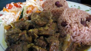 Curried Goat Recipe - Nevis Island