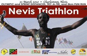Nevis Triathlon 2010 Tourism Poster