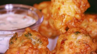 Saltfish Fritter Recipe - Nevis Island Caribbean