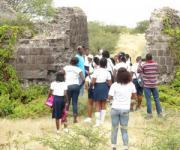 Students Tour Nevis Historical Sites In Charlestown