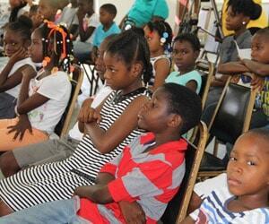 Nevis Children At Library