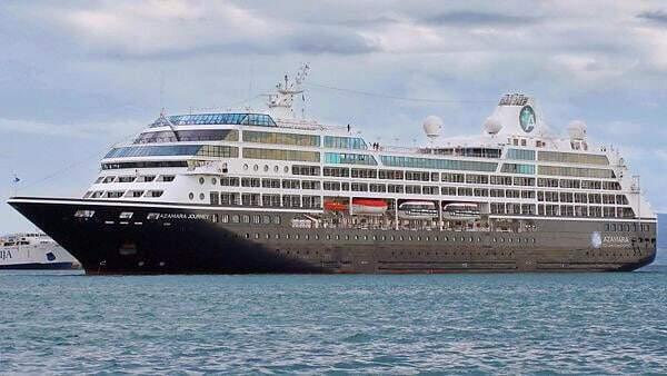 Azamara Cruise Ship - Nevis Island