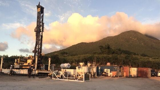 Nevis Geothermal Energy Drilling