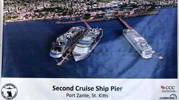 Second Cruise Ship Pier St. Kitts - Nevis