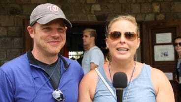 American Tourists Visit Nevis Island
