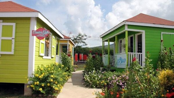 Cruise Passengers To Nevis Visit Artisan Village