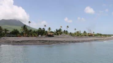 Beach Erosion Four Seasons Nevis