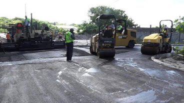 Braziers Road Improvements Nevis 2017