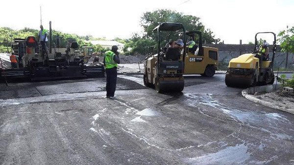 Braziers Road Improvements Nevis 2017