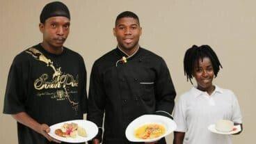 Chef Monrose With The Winning Yam Recipe