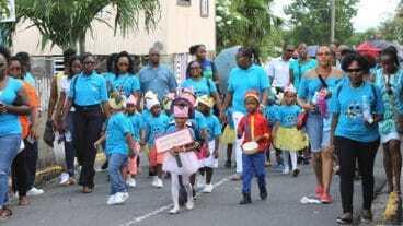 Nevis Child Month Parade 2017