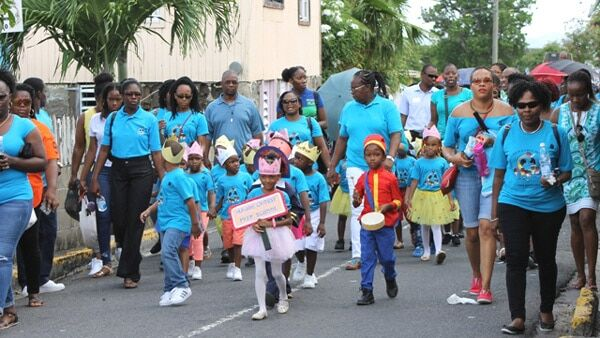 Nevis Child Month Parade 2017