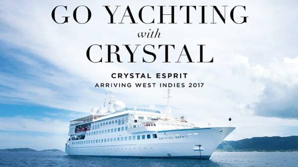 Crystal Esprit Cruise Ship Nevis