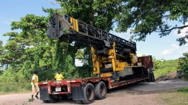 Geothermal Drilling Rig Arrives In Nevis