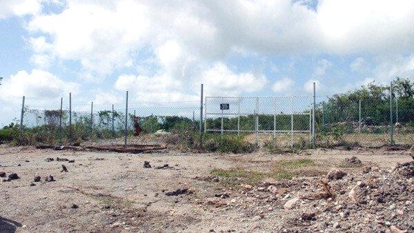 Hamilton Estate Nevis Drilling Site