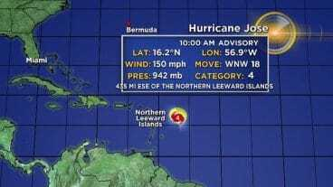 Nevis Issues Hurricane Jose Statement
