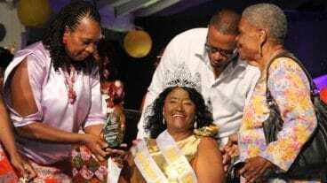 1st Miss Nevis Senior Winner Mareta Hobson