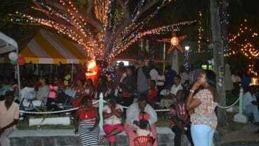 Christmas Tree Lighting Ceremony - Nevis Island