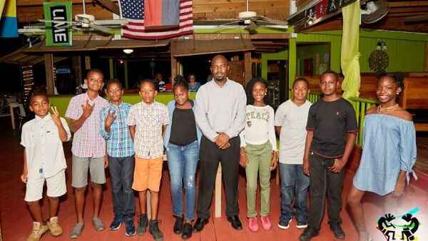 Junior Kaiso Participants - Nevis Culturama 2017