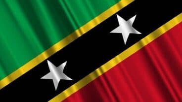 Nevis and St. Kitts National Flag
