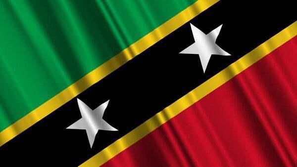 Nevis and St. Kitts National Flag