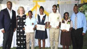 Nevis Students Receive Hamilton Scholarship Award