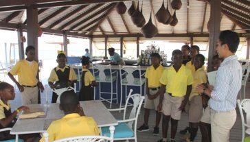 Nevis Students Nisbet Plantation