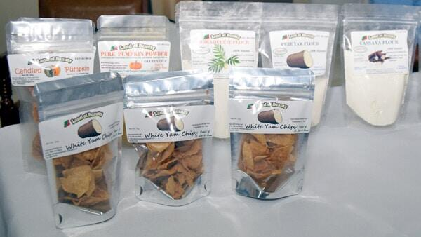 St. Kitts - Nevis Yam Products