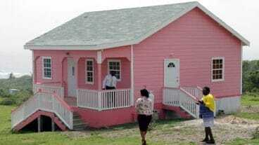 New Nevis Home For Single Mother