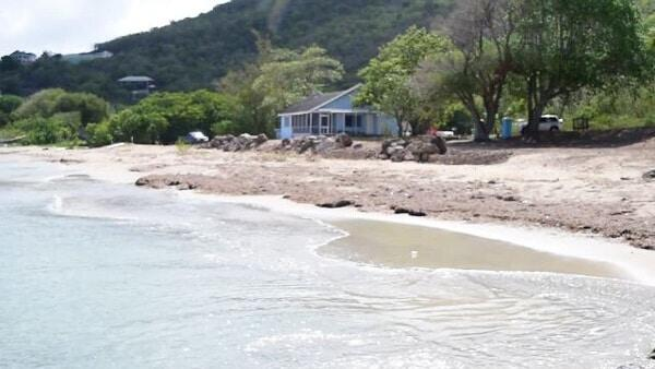 Water Taxi Site At Oualie Beach Nevis