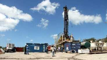 Geothermal Drilling Site in Hamilton, Nevis