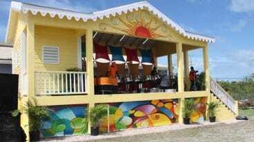 Nevis Artisan Village Band Stand