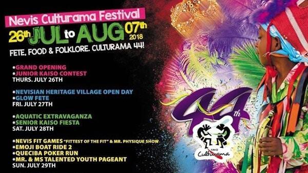 Nevis Culturama 44 Events Schedule