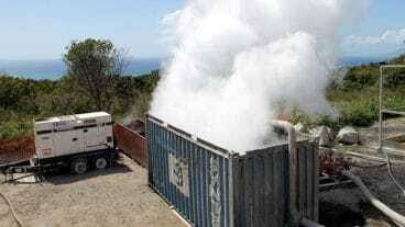 Nevis Geothermal Well Test