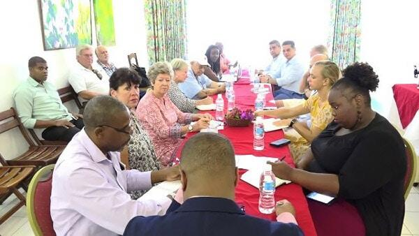 Nevis Hotel Owners Meet With Premier Brantley
