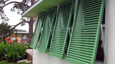 Nevis Hurricane Shutters