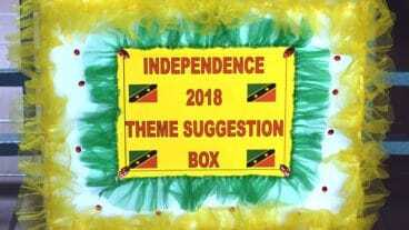Nevis Independence 35 Theme Competition Box
