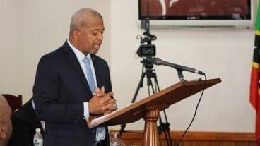 Nevis Public Works Minister Spencer Brand
