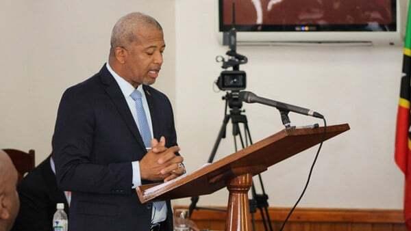Nevis' Public Works Minister Spencer Brand