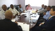 Nevis Water Project Meeting Frank And Fruitful