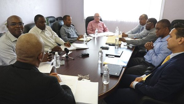 Nevis Water Project Bank Meeting