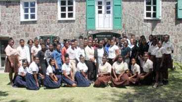 Nevis Youth Observe Commonwealth DaY
