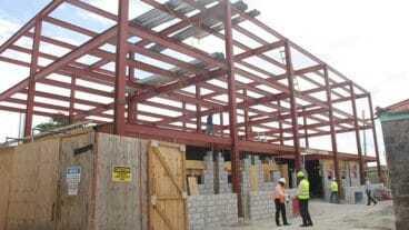 New Brantley Treasury Building In Nevis