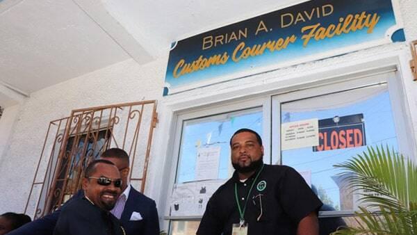 Brian A. David - Nevis Customs Facility