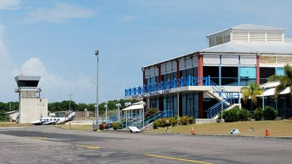 The Present Nevis Airport As It Stands