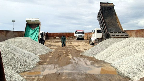 Nevis Island Quarry Products