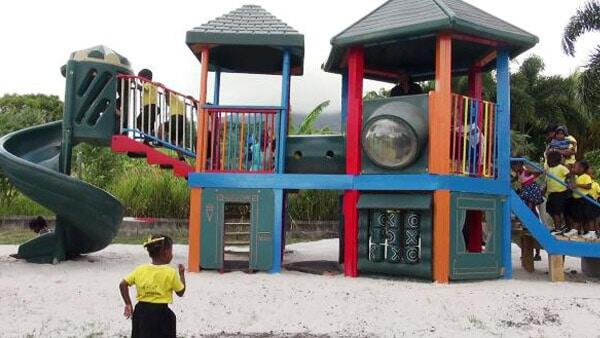 Playground Equipment - Nevis Pre-School