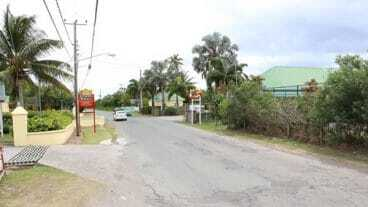 Nevis Main Road at Cliffdwellers